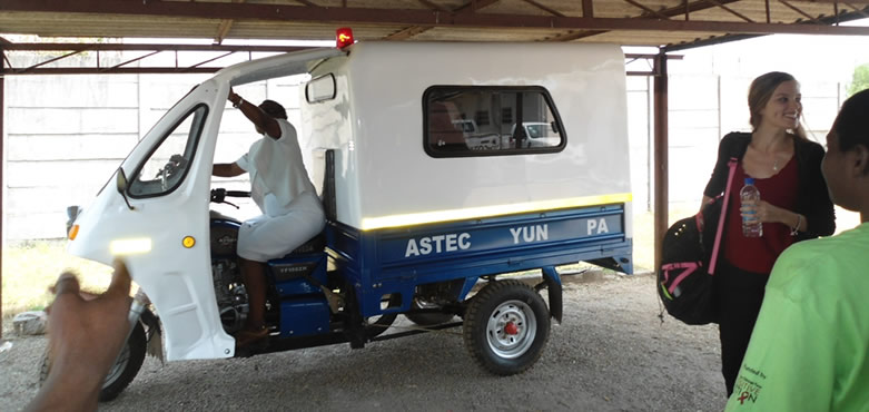 Maternal Tricycle Ambulance